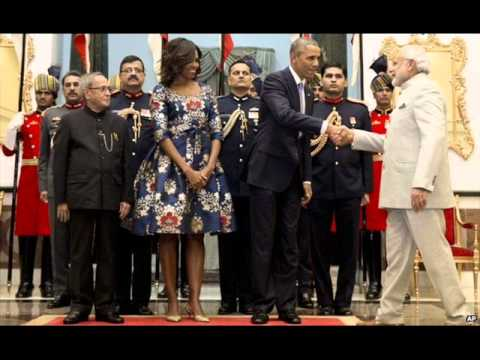 Barack Obama in Delhi Five images to remember : 24/7 News online