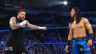 Mustafa Ali makes a return and saves Kevin Owens