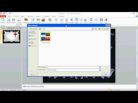 Jak udělat prezentaci v microsft PowerPoint