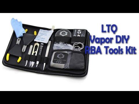 Original LTQ Vapor DIY RBA Tools Kit review - Gearbest.com