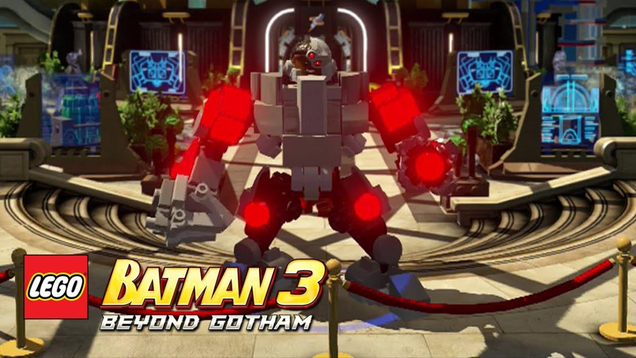 Lego Batman 3 Beyond Gotham Cyborg Lego Batman 3 Beyond Gotham