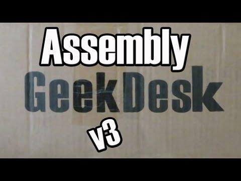 GeekDesk v3 Assembly