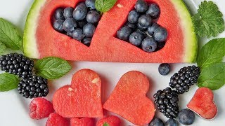 How does fruit cut put dish good-looking? Cut and serve common fruits
