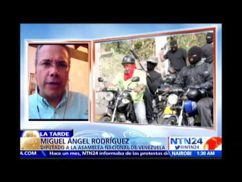 ¿Qué función cumplen los motorizados en crisis de Venezuela? análisis en La Tarde de NTN24