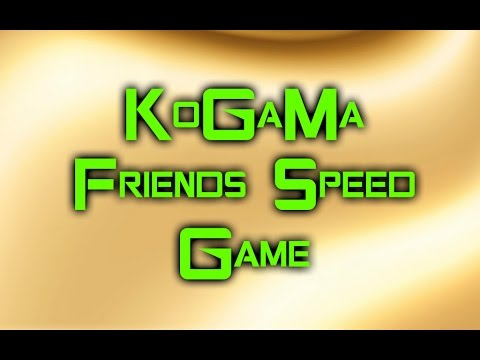 KoGaMa Friends Speed Game