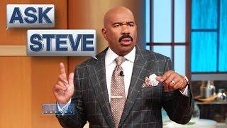 Ask Steve: Can't say that joke!    STEVE HARVEY