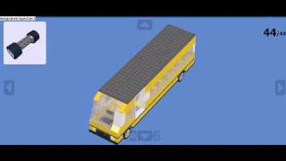 How to build a Yellow Lego Bus 1.1