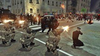 ¡Resistencia a INVASIÓN ZOMBIE! | Navy Seals - SWAT - Policía | Men of War gameplay | Aguacate!