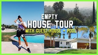 I GOT A HOUSE!!! Empty House Tour with Guest House + Pool