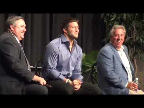Tebow comments on Ohio State football