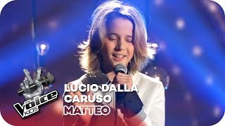 Lucio Dalla - Caruso (Matteo) | Finale | The Voice Kids 2016 | SAT.1
