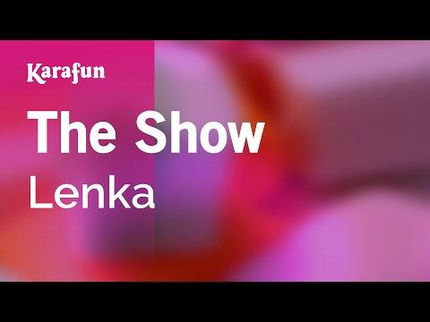 Karaoke The Show - Lenka * video