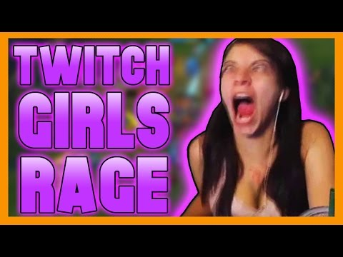 Twitch Girls Rage - League Of Legends