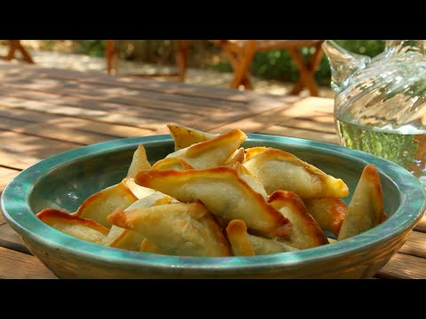 Spinach Turnovers | Taste of Beirut