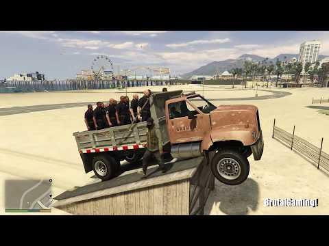 GTA 5 Brutal Kill Compilation (GTA V Amanda revenge Michael Funny Moments Fail Thug life)