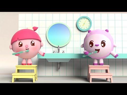 Малышарики - Новые серии - Щётка (84 серия) Развивающие мультики