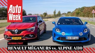 Alpine A110 vs Renault Mégane RS - AutoWeek Dubbeltest - English subtitles