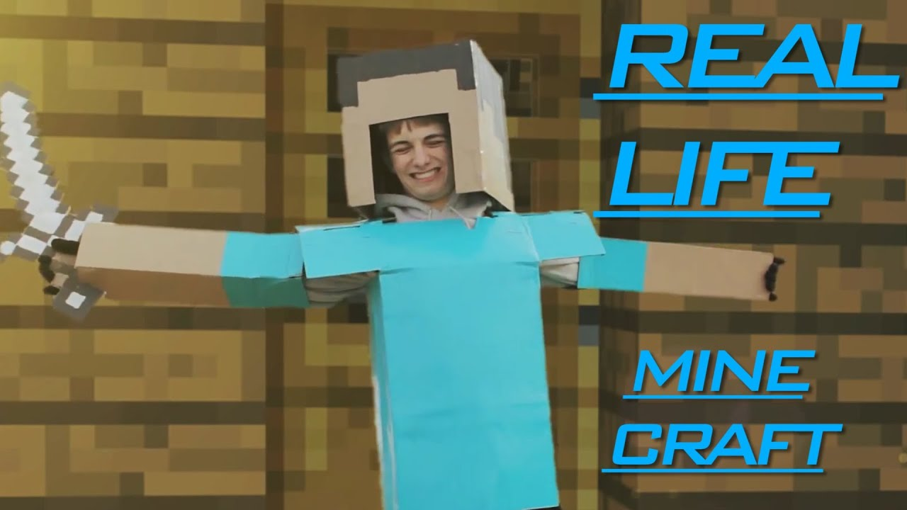 Minecraft Real Life Villager Minecraft real life villager