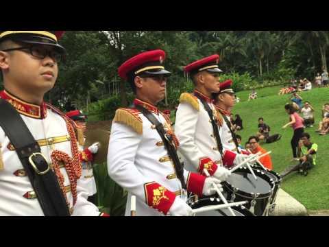 SAF band Bandstand 3 - Drumline