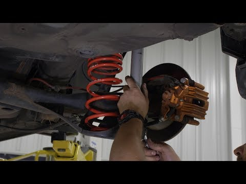 VW MK4 Coilover Removal and Installation DIY