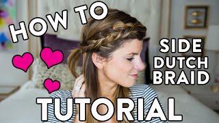 How To Do A Side Braid Hair Tutorial