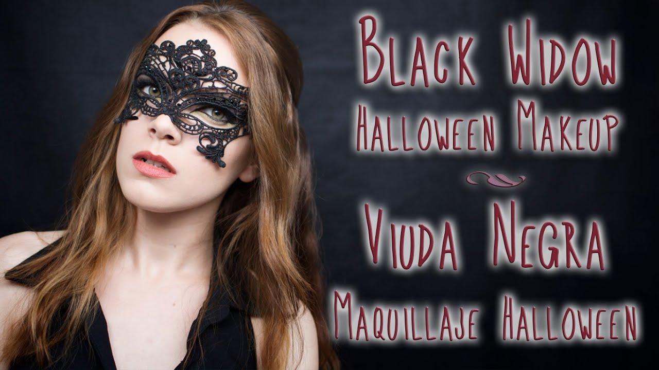 Black widow makeup