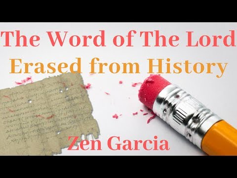The Word of The Lord - Comparing Ancient Manuscripts