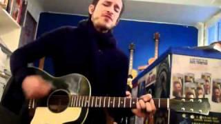 Jimmy Gnecco - Bring You Home - Live Acoustic Boutique Fargo Paris - 29/11/2010