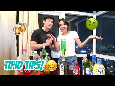 CHEAP ALCOHOL MIXES (INUMAN NA!!!) | Angel Dei