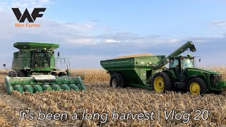 HONK IF YOU'RE READY FOR #HARVEST19 TO BE OVER!!! Corn Harvest 2019 Vlog 20