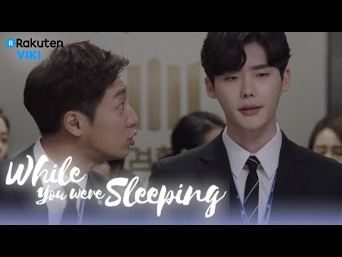 While You Were Sleeping - EP5 | Lee Jong Suk's Coworkers Talking About Suzy [Eng Sub]