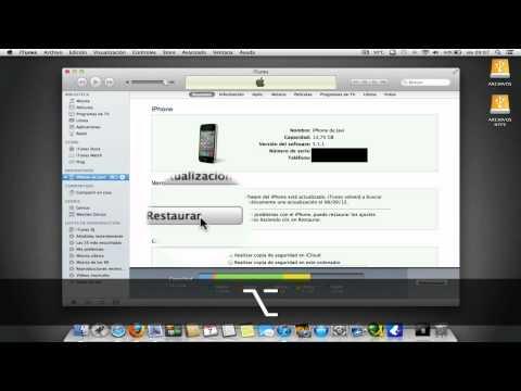 Como poner en modo DFU sin los botones (iPhone/iPod/iPad)