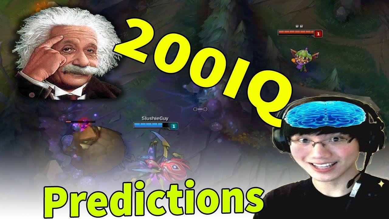 TOP 60 PREDICTIONS & 200IQ - BEST PREDICTION MOMENTS EVER (LEAGUE OF LEGENDS)