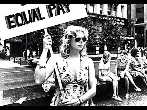 Great Women's Rights Movement Footage - 1970s