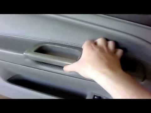 02-05 VW B5.5 Passat Removing Interior Trim and replacing door lock actuator