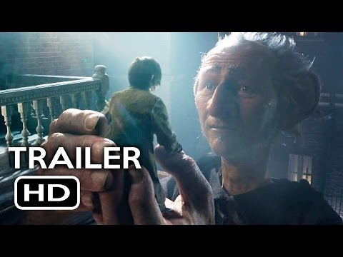 The BFG Official Trailer #1 (2016) Steven Spielberg Fantasy Movie HD