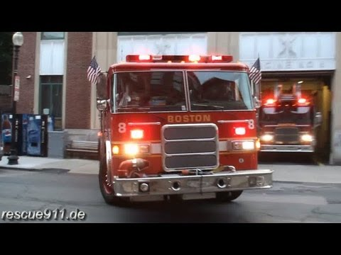 Engine 8 + Ladder 1 Boston Fire Department