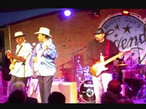 Grammy Blues Fest Kickoff Party At Legends 2012 at Buddy Guy Video Montage Lonnie Brooks workin it!