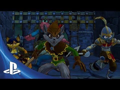 Sly Cooper: Thieves In Time Costume Trailer