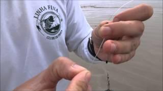 Chicote de pesca de praia