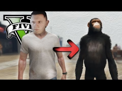 Shape Shifter Mod | Gta 5 Fun (pc) video