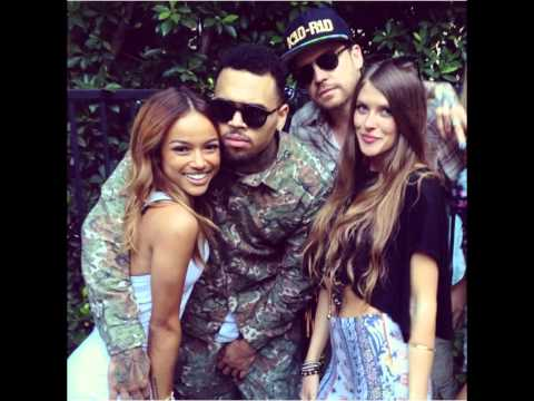 chris brown exclusive party out from jail with karrueche tran and friends