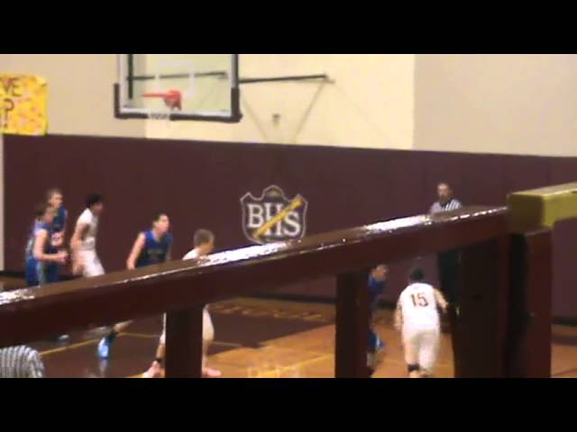 3-9-13 - It&#039;s a baseline floater for Austin Garcia (Brush 25, Moffat County 14)