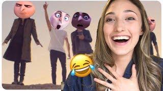 Gru Saying Gorls Meme Reaction