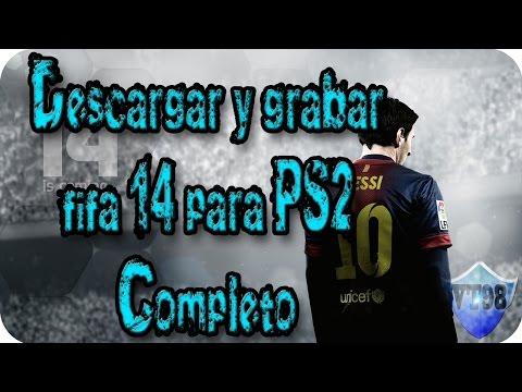 Tutorial Descargar y grabar fifa 14 para PS2 completo en Español