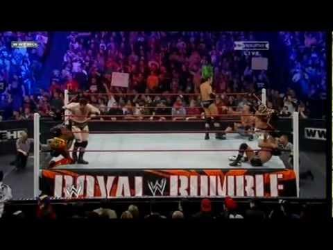 WWE - 2011 Royal Rumble - Highlights