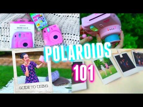 Fujifilm (Polaroid) Camera How to use + Review!