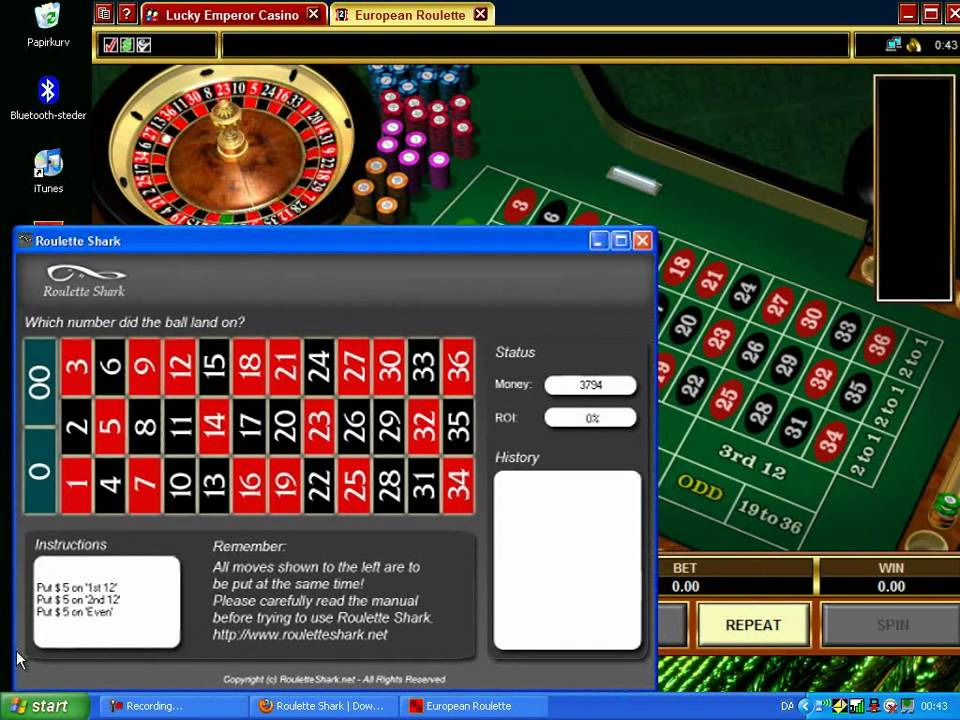 Roulette test software