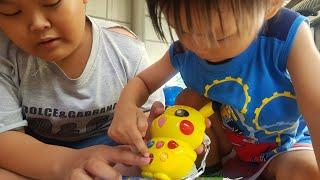 Trò Chơi Vui Đập Chuột Với Pikachu | Đồ Chơi Trẻ Em Pikachu Điện Tử