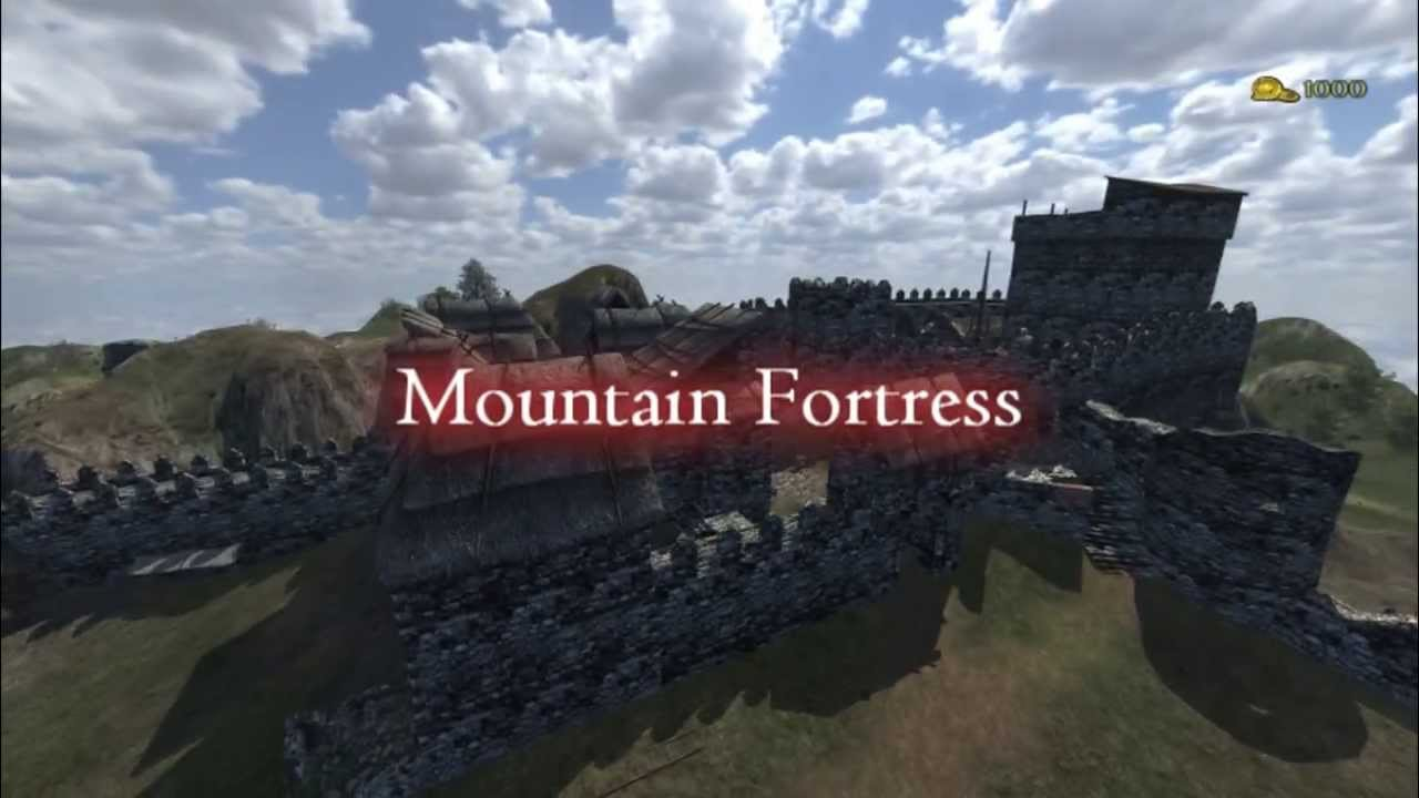 Map Mountain Fortress